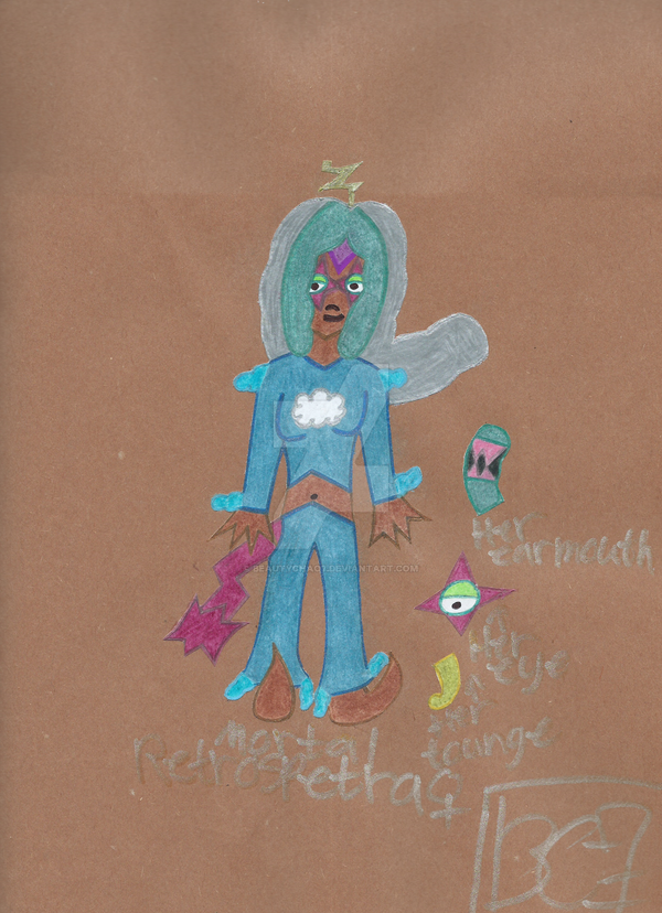 Mortal Retrospectra Dream Traveler Oc by BeautyChao7