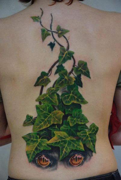 Poison ivy by batoonizator on deviantart for Poison ivy vine tattoos