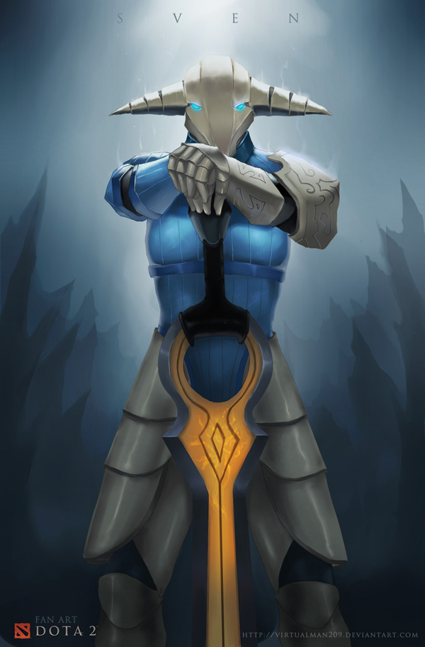 sven dota 2 by virtualman209 on deviantart