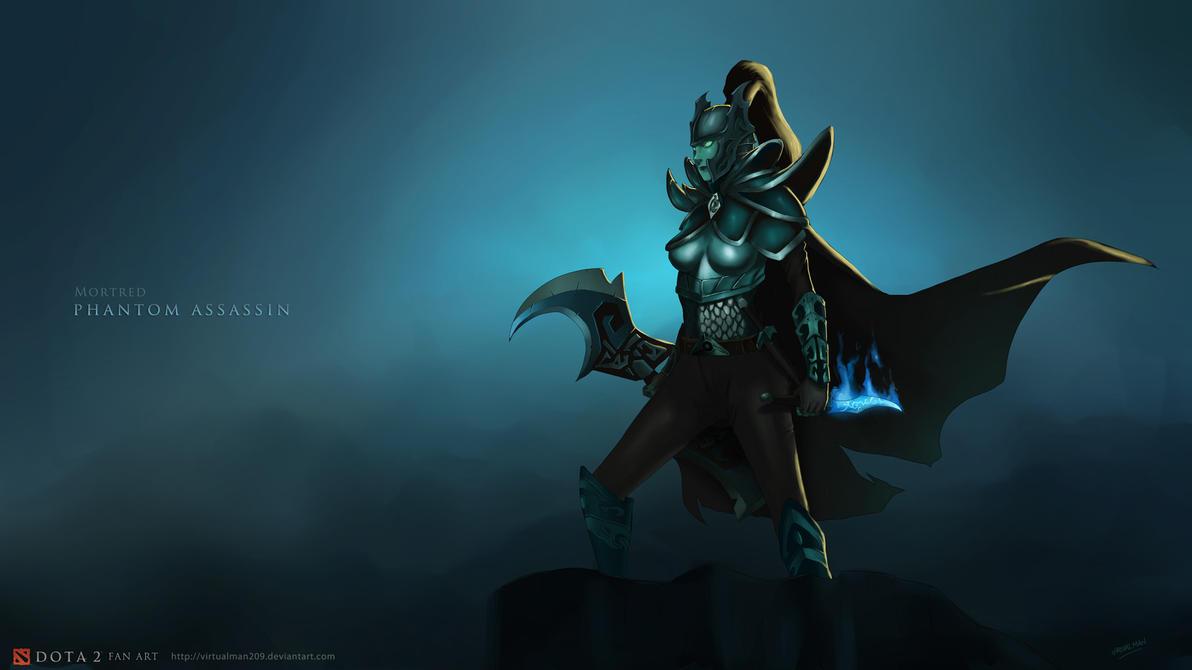 mortred phantom asssasin by virtualman209 on deviantart