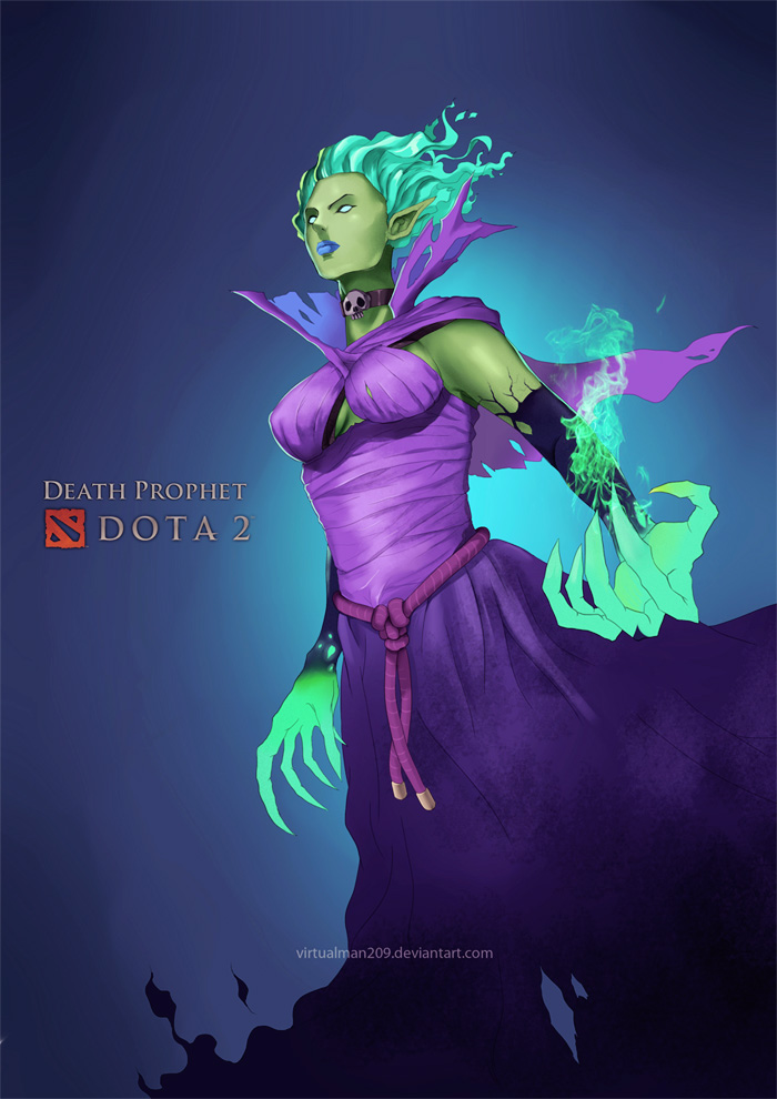 krobelus death prophet from dota 2 by virtualman209 on deviantart
