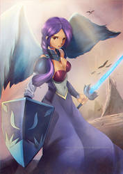 Angel Girl by VirtualMan209