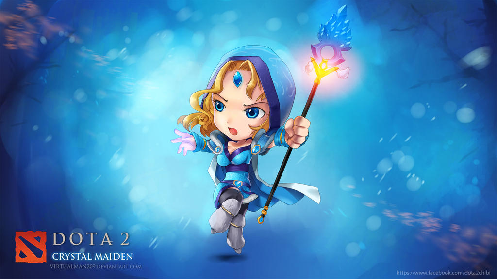 Art crystal maiden