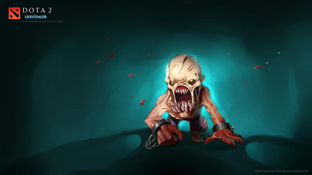 Lifestealer Chibi Dota 2 By Virtualman209 On Deviantart