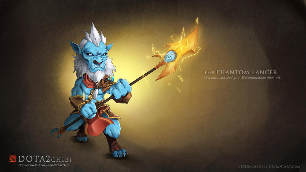 phantom lancer dota 2 chibi by virtualman209 on deviantart