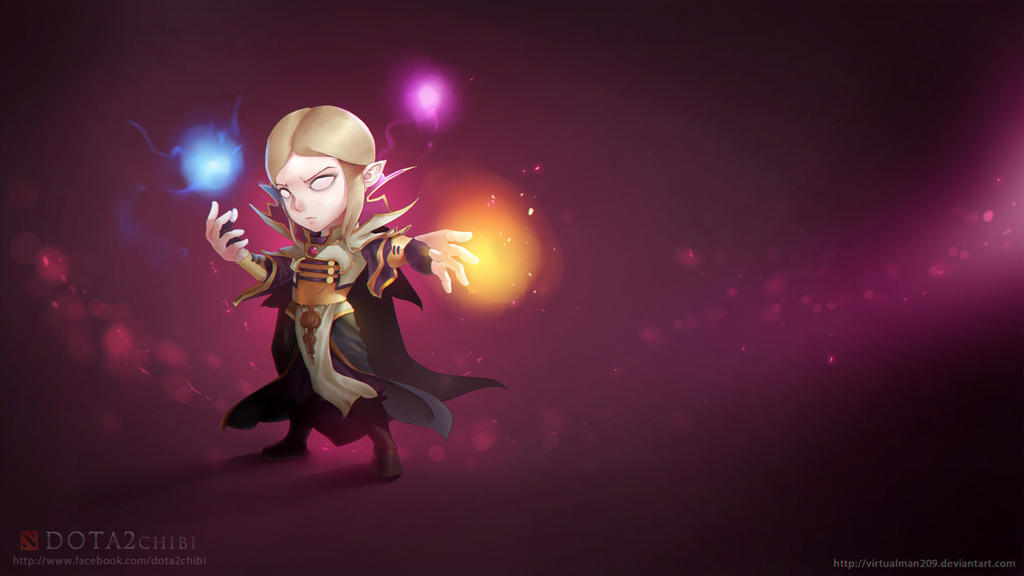 Invoker Chibi by VirtualMan209