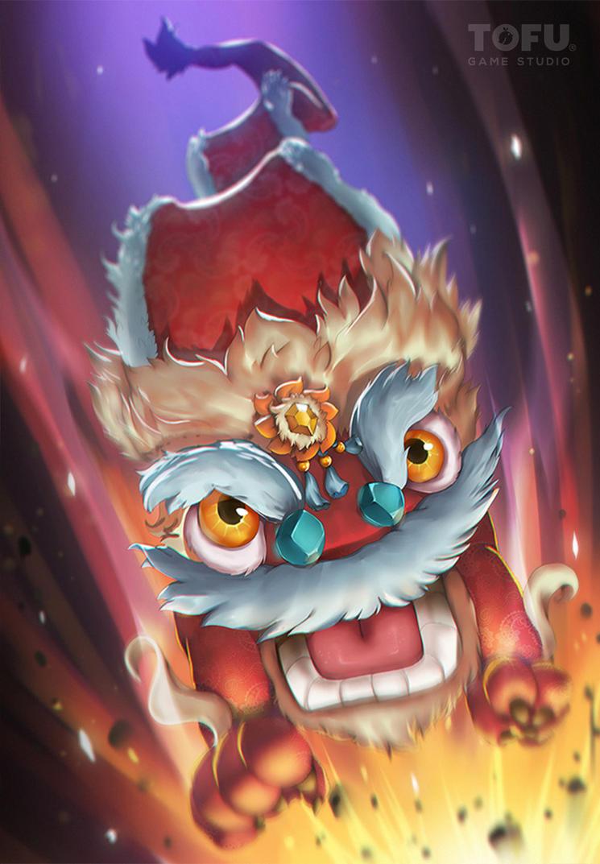 Chinese Unicorn by VirtualMan209