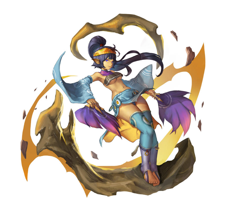 Kali - DragonNest fanart by VirtualMan209