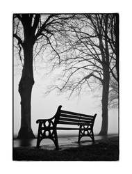Empty Bench by ninereeds-DA