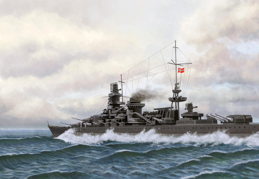 Scharnhorst by U-Joe