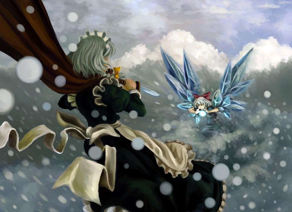 Clash in the skies by U-Joe