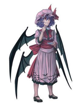 Remilia Scarlet (for AWA Touhou Scroll Project)