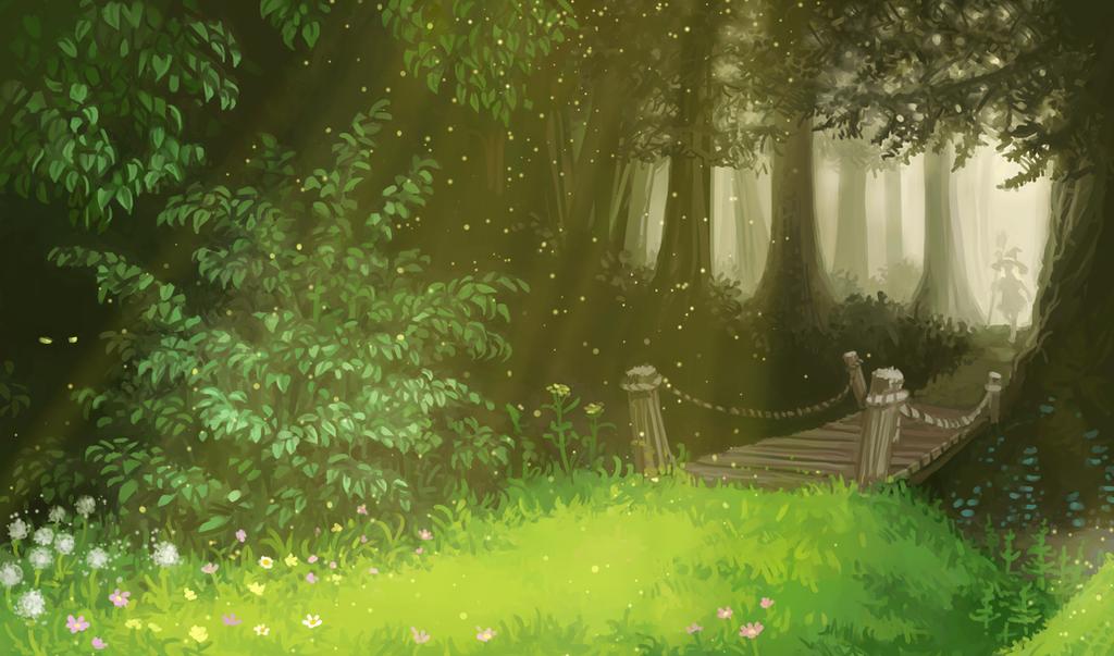 Magic Forest by U-Joe