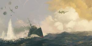 Soviet destroyer Valerian Kuybyshev