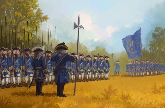 The Swedish Infantry by U-Joe