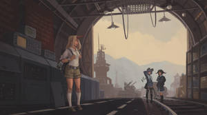 Yuugi Hoshiguma and the Raiders of the Lost Ark