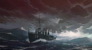 IJN destroyer Amatsukaze