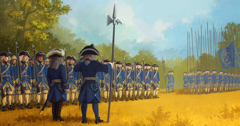 Dalarna regiment by U-Joe