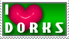 I heart Dorks - Stamp by Touch-and-Go
