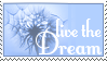 Live the Dream - Stamp