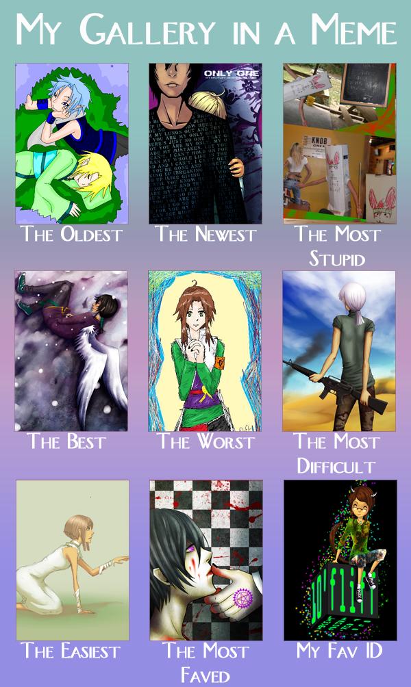 My Gallery in a Meme by fliff