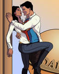 Not-So-Secret Kiss