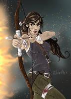 Lara Croft by lilrebelart