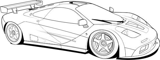 Line Art Car : Progression step lineart by bmart on deviantart