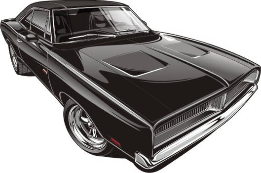 1969 Dodge Charger by Bmart333