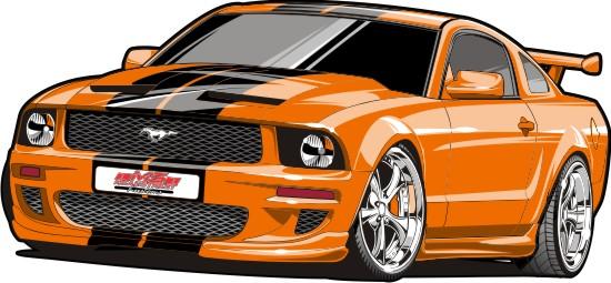 Custom Mustang by Bmart333