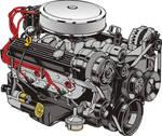 ZZ4 350 Motor