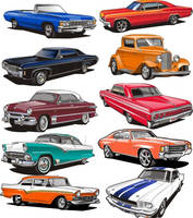 vector clipart set 2 by Bmart333