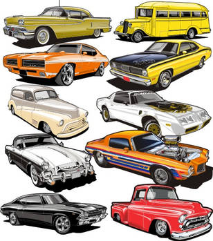 vector clipart set 3 by Bmart333