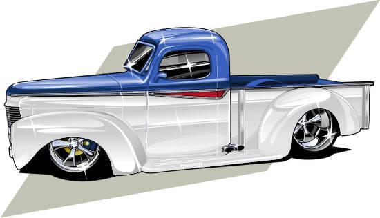 ol' custom truck by Bmart333