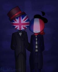 No Umbrella [Countryhumans] UK x France