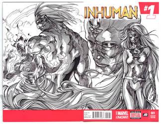 INHUMANS grey by Titancross