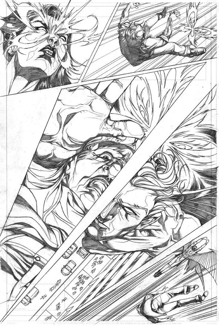 Pg 5/6 (Psylocke and Archangel) by Titancross