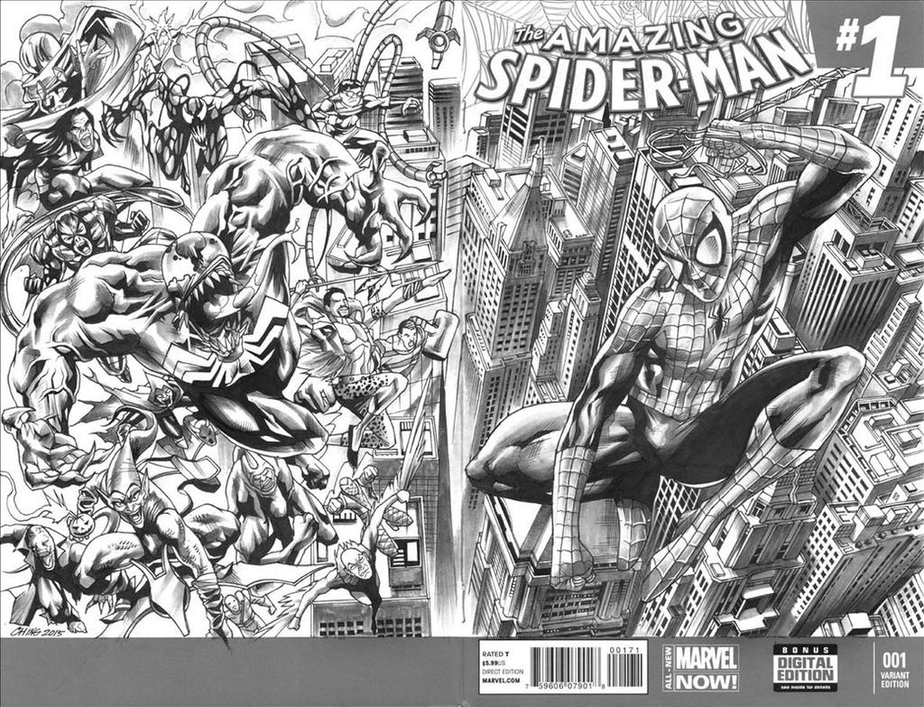 Spider-man and Rogues Gallery by Titancross