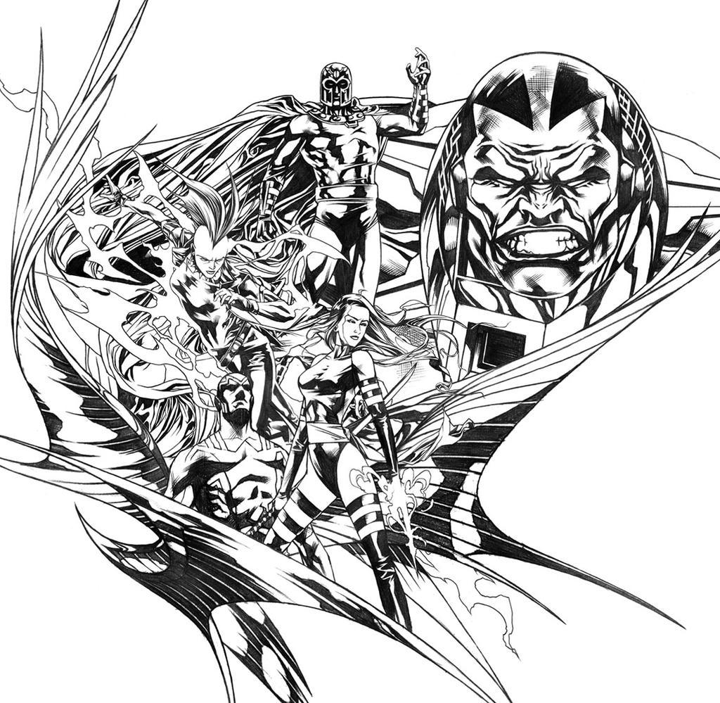 The Four Horsemen of Apocalypse by Titancross