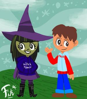 (Art Trade) Ian and Wilhemina