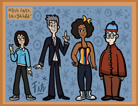 The 12th Doctor and His Companions