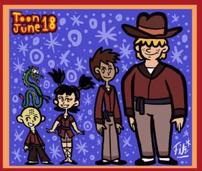 Toon June 2021 XVIII: Xiaolin Rebooted!