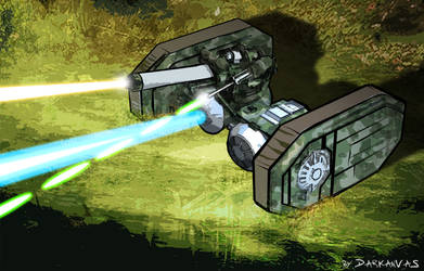 Star Wars  Tie Bombardier by Darkanvas