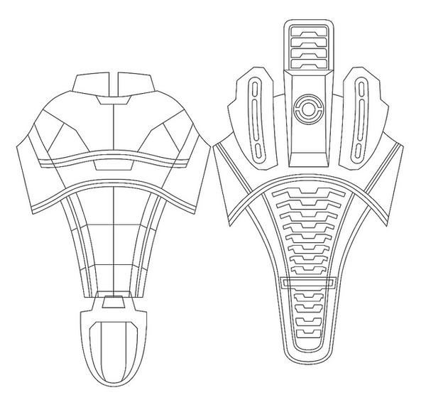 Mass effect template by joshsonic8 on deviantart for Mass effect 3 n7 armor template