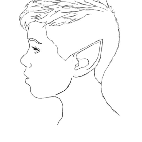Line Drawing Female : Female line drawing imgkid the image kid has it
