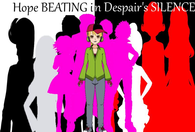 Danganronpa Hope Beating in Despair's Silence by GoldenCat12