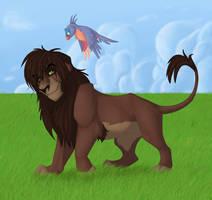 King of the pridelands by lawlietlk