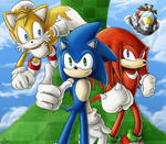 Sonic And The Team