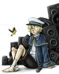 VOCALOID3 Oliver Offical Art