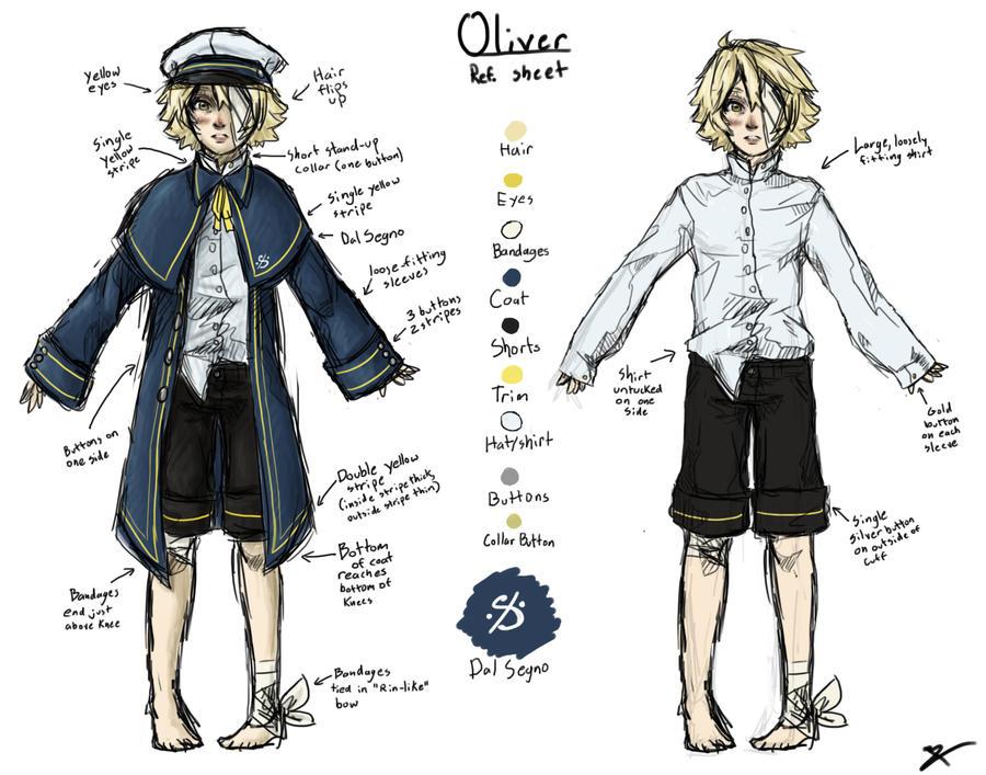 Oliver Reference Sheet